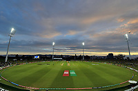 General View of the Bay Oval Cricket Ground during the ICC U-19 Cricket World Cup 2018 Finals between India v Australia, Bay Oval, Tauranga, Saturday 03rd February 2018. Copyright Photo: Raghavan Venugopal / © www.Photosport.nz 2018 © SWpix.com (t/a Photography Hub Ltd)