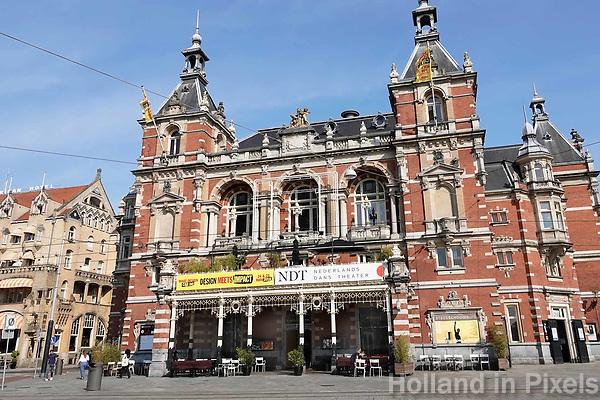 Nederland - Amsterdam - 2018. De Stadsschouwburg aan het Leidseplein.  Foto Berlinda van Dam / Hollandse Hoogte.