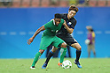 (L to R) <br /> Imoh Ezekiel (NGR), <br /> Hiroki Fujiharu (JPN), <br /> AUGUST 4, 2016 - Football / Soccer : <br /> Men's First Round Group B <br /> between Nigeria 5-4 Japan <br /> at Amazonia Arena <br /> during the Rio 2016 Olympic Games in Manaus, Brazil. <br /> (Photo by YUTAKA/AFLO SPORT)