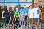 Kathy Quilter, Margaret Carolan, Gearoid Quilter, Geraldine Fitzgerald, Thomas Scanlon, Mike Slattery, Pat Sheehy at the Born to Run Ultra Marathon on Saturday