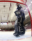 Kayley Herman (UNH - 31) - The Boston College Eagles and the visiting University of New Hampshire Wildcats played to a scoreless tie in BC's senior game on Saturday, February 19, 2011, at Conte Forum in Chestnut Hill, Massachusetts.
