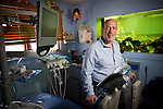 DOBBS FERRY, NY - FEBRUARY 03, 2011:  Dr. Edward Zuckerberg, D.D.S.,  father of Facebook founder Mark Zuckerberg, poses in his dental practice on February 03, 2011 in Dobbs Ferry, NY.  (Photo by Michael Nagle)