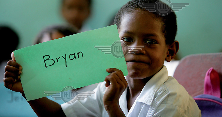 A boy in class, called Bryan..