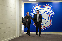 Steve Cooper Head Coach of Swansea City arrives for the Sky Bet Championship match between Cardiff City and Swansea City at the Cardiff City Stadium in Swansea, Wales, UK.  Sunday 12 January 2019