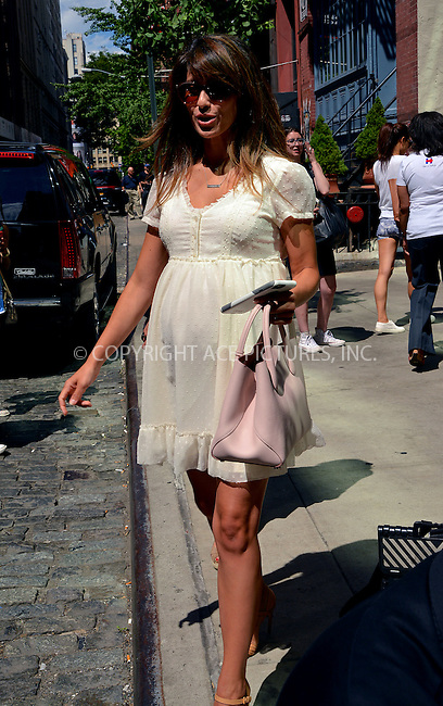 www.acepixs.com<br /> <br /> June 22 2016, New York City<br /> <br /> Pregenant Hilaria Baldwin leaves a downtown hotel on June 22 2016 in New York City<br /> <br /> By Line: Curtis Means/ACE Pictures<br /> <br /> <br /> ACE Pictures Inc<br /> Tel: 6467670430<br /> Email: info@acepixs.com<br /> www.acepixs.com