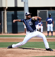 Ronald Bolanos - San Diego Padres 2019 spring training (Bill Mitchell)