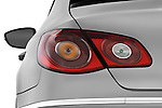 Tail light close up detail view of a 2009 volkswagen cc luxary