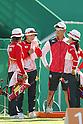 (L-R) Yuki Hayashi, Saori Nagamine Kaori Kawanaka (JPN),<br /> AUGUST 7 2016 - Archery : <br /> Women's teaml final Round <br /> at Sambodromo <br /> during the Rio 2016 Olympic Games in Rio de Janeiro, Brazil. <br /> (Photo by Yusuke Nakanishi/AFLO SPORT)