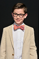 LOS ANGELES, CA. September 16, 2018: Owen Vaccaro at the premiere for &quot;The House With A Clock In Its Walls&quot; at TCL Chinese Theatre.<br /> Picture: Paul Smith/Featureflash
