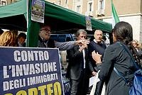 """Contro """"l'invasione dei Migranti"""" presentato il corteo da Alemanno, Storace e Gasparri"""