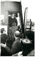 Brian Mulroney join Conservative Candidate McLelland (L) during the Federal electoral campaign, november 19, 1988 <br /> <br /> <br /> PHOTO :  Agence Quebec Presse