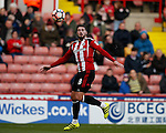 Kieron Freeman of Sheffield Utd during the Emirates FA Cup Round One match at Bramall Lane Stadium, Sheffield. Picture date: November 6th, 2016. Pic Simon Bellis/Sportimage