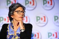Anna Finocchiaro.Roma 20/1/2012 Nuova Fiera Di Roma.Assemblea Nazionale PD Partito Democratico.Foto Insidefoto Andrea Staccioli