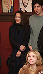 Winona Ryder and Tavi Gevinson attend the unveiling of the Kenneth Lonergan caricature at Sardi's on February 17, 2017 in New York City.