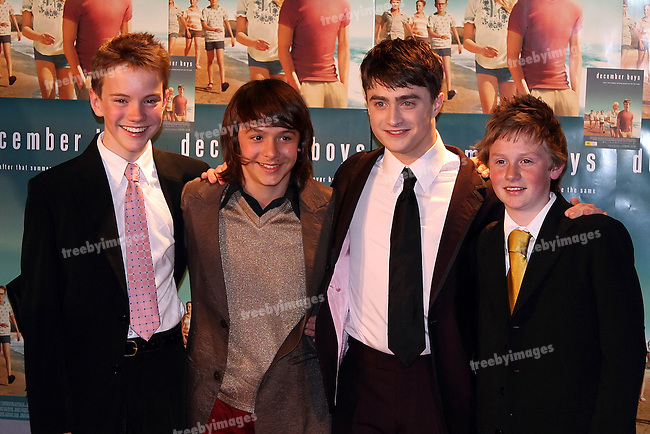 Red Carpet arrivals for the Australian Premiere of the movie December Boys, 9-9-07. the Cast of December Boys. ..