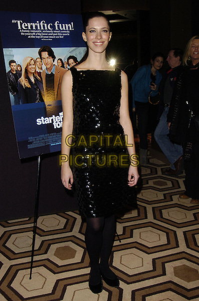 "REBECCA HALL.Special New York Screening of ""Starter For 10"" at Tribeca Grand Screening Room, New York, New York, USA..February 13th, 2007.full length dress black .CAP/ADM/BL.©Bill Lyons/AdMedia/Capital Pictures *** Local Caption ***"
