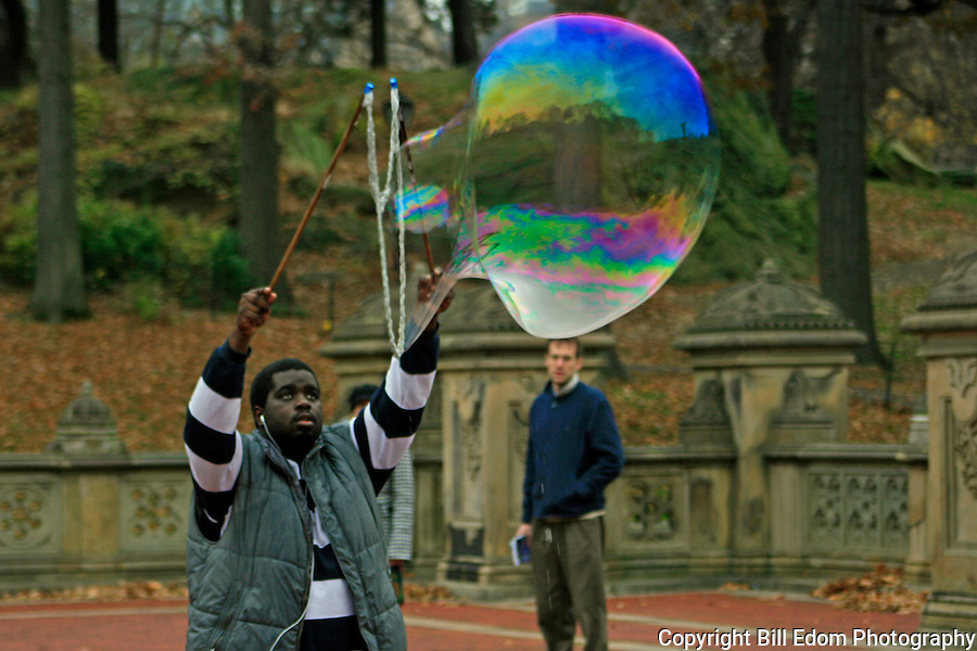 Central Park Bubble Blower