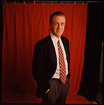 NBA's Miami Heat Coach Pat Riley. Shot for South Florida Magazine..