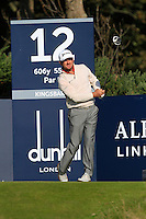 Greame McDowell (NIR) on the 12th tee during Round 2 of the 2015 Alfred Dunhill Links Championship at Kingsbarns in Scotland on 2/10/15.<br /> Picture: Thos Caffrey | Golffile