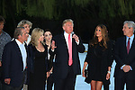 Donald Trump - Melania - Rod Gilbert - Judy - Terry Lundgren - Meryl at Skating with the Stars (celebrities & Olympic skaters), a benefit gala for Figure Skating in Harlem on April 6, 2010 at Wollman Rink, Central Park, New York City, New York. (Photo by Sue Coflin/Max Photos)