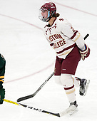 Andie Anastos (BC - 23) -  The Boston College Eagles defeated the University of Vermont Catamounts 4-3 in double overtime in their Hockey East semi-final on Saturday, March 4, 2017, at Walter Brown Arena in Boston, Massachusetts.