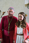 Ellen Strolia.after being confirmed by Bishop Michael Smith in Julianstown Church..Picture:  www.newsfile.ie ..