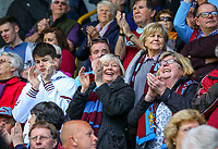 Burnley fans enjoy the pre-match atmosphere<br /> <br /> Photographer Alex Dodd/CameraSport<br /> <br /> The Premier League - Burnley v Arsenal - Sunday 12th May 2019 - Turf Moor - Burnley<br /> <br /> World Copyright © 2019 CameraSport. All rights reserved. 43 Linden Ave. Countesthorpe. Leicester. England. LE8 5PG - Tel: +44 (0) 116 277 4147 - admin@camerasport.com - www.camerasport.com