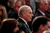 White House Chief of Staff John Kelly arrives inside the U.S. Capitol Rotunda for a ceremony honoring former U.S. President George H. W. Bush in Washington, U.S., December 3, 2018. REUTERS/Jonathan Ernst/Pool