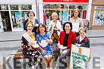 Poco launching their Chernobyl Children Fund Afternoon Tea in the Mall on Monday.  Seated l to r: Sally Ann Leahy (Kerry Rose 2019), Eileen Whelan, Hilda and Orna Nolan.<br /> Back l to r: Mary Lynch, Audrey Moran and Jade Eager