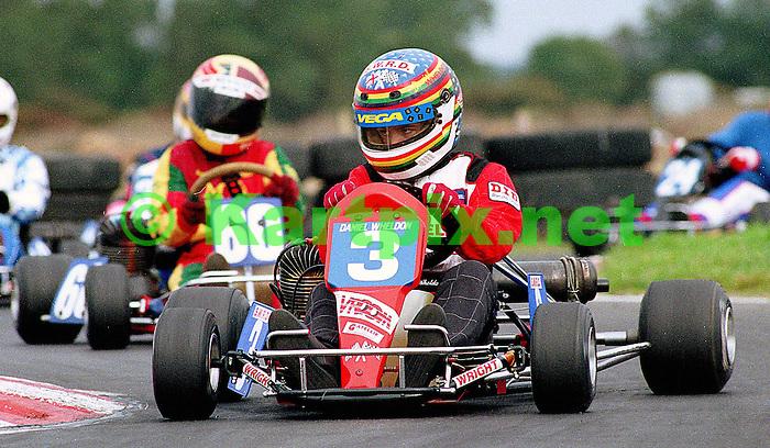 Daniel Wheldon, MSA, Junior Britain, Fulbeck, Wright Karts, S.W.R.D., Dan Wheldon