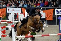 ZUIDBROEK - Paardensport, ICCH Zuidbroek, springen internationaal Grote Prijs , 05-01-2019, Remco Been met Vdl Holland vd Bisschop
