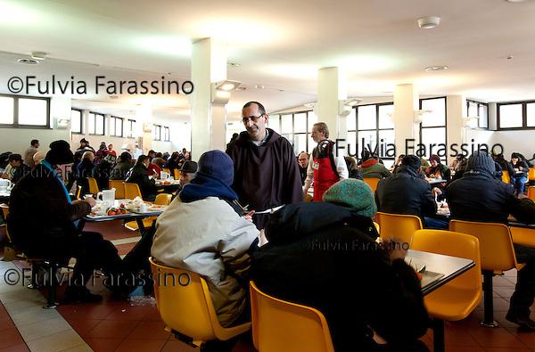 Milano,  gennaio 2011 Opera San Francesco per i poveri- mensa