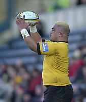 29/02/2004  -  Powergen  Cup - London Wasps v Pertemps Bees .Trevor Leota   [Mandatory Credit, Peter Spurier/ Intersport Images].