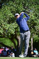 Ryan Palmer (USA) watches his tee shot on 2 during round 4 of the Valero Texas Open, AT&amp;T Oaks Course, TPC San Antonio, San Antonio, Texas, USA. 4/23/2017.<br /> Picture: Golffile | Ken Murray<br /> <br /> <br /> All photo usage must carry mandatory copyright credit (&copy; Golffile | Ken Murray)