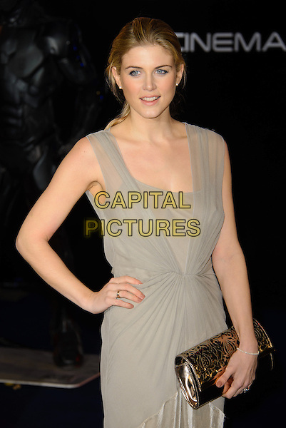 LONDON, ENGLAND - FEBRUARY 05: Ashley James attends the UK World Premiere of 'Robocop' at the BFI IMAX on February 05, 2014 in London, England. <br /> CAP/CJ<br /> &copy;Chris Joseph/Capital Pictures