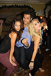 General Hospital Lindsey Morgan, Kristen Alderson and Erik Valdez dance at SoapFest's Celebrity Weekend - Celebrity Karaoke Bar Bash - autographs, photos, live auction raising money for kids on November 10, 2012 at Bistro Soleil at Old Historic Marco  Island, Florida. (Photo by Sue Coflin/Max Photos)