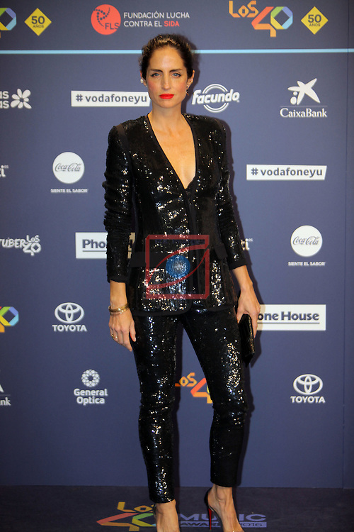 Los 40 MUSIC Awards 2016 - Photocall.<br /> Carolina Herrera.