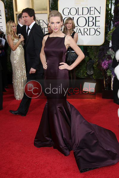 Taylor Swift<br /> at the 70th Annual Golden Globe Awards Arrivals, Beverly Hilton Hotel, Beverly Hills, CA 01-13-13<br /> David Edwards/DailyCeleb.com 818-249-4998