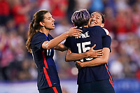 11th Mach 2020, Frisco, Texas, USA;  Players of USA celebrate Christen Press goal during the 2020 SheBelieves Cup Womens International Friendly,  football match between USA Women versus Japan Women at Toyota Stadium in Frisco, Texas, USA.