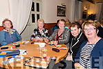 Supporting the Thrashing Cancer bingo night in The Manor Inn, Killorglin on Friday.<br /> L-R Joan O'Connor, Bernie Byrne, Julie May Purcell, Bridie Mulderrig &amp; Mary O'Donoghue.