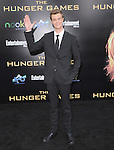 Jack Quaid attends the Lionsgate World Premiere of The hunger Games held at The Nokia Theater Live in Los Angeles, California on March 12,2012                                                                               © 2012 DVS / Hollywood Press Agency