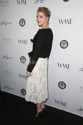 LOS ANGELES, CA - MAY 4:  Amber Heard at the Syrian American Medical Society benefit event hosted by Amber Heard at The Sofitel Hotel in Los Angeles, California on May 4, 2018. Credit: Faye Sadou/MediaPunch