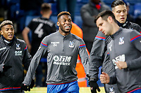 Timothy Fosu-Mensah of Crystal Palace warms up ahead of the Premier League match between Crystal Palace and Watford at Selhurst Park, London, England on 12 December 2017. Photo by Carlton Myrie / PRiME Media Images.