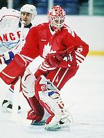 Sean Burke Team Canada. Photo copyright F. Scott Grant