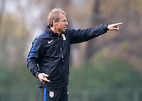 Columbus, OH - November 8, 2016: The USMNT trains in preparation for their World Cup qualifier against Mexico at MAPFRE Stadium.