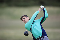 Tom McKibbin of Ireland during Day 2 / Foursomes of the Boys' Home Internationals played at Royal Dornoch Golf Club, Dornoch, Sutherland, Scotland. 08/08/2018<br /> Picture: Golffile | Phil Inglis<br /> <br /> All photo usage must carry mandatory copyright credit (&copy; Golffile | Phil Inglis)