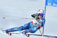 February 16, 2017: Nina LOESETH (NOR) competing in the women's giant slalom event at the FIS Alpine World Ski Championships at St Moritz, Switzerland. Photo Sydney Low
