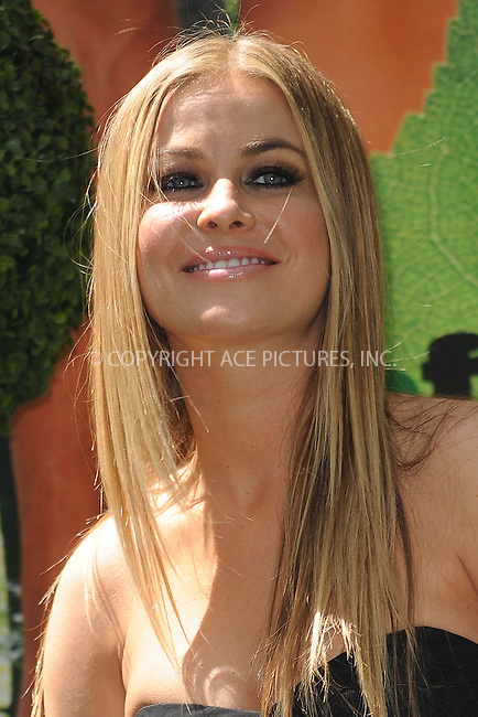 WWW.ACEPIXS.COM . . . . . ....April 30 2010, New York City....Actress/model Carmen Electra hosts the launch of the Philips Norelco Deforest Yourself, Reforest the World program on April 30 2010 in New York City. ....Please byline: KRISTIN CALLAHAN - ACEPIXS.COM.. . . . . . ..Ace Pictures, Inc:  ..(212) 243-8787 or (646) 679 0430..e-mail: picturedesk@acepixs.com..web: http://www.acepixs.com