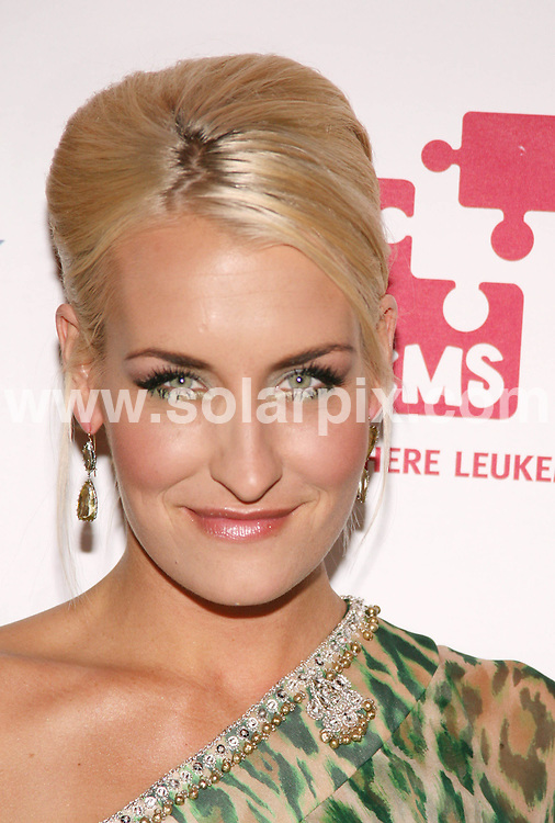 **ALL ROUND PICTURES FROM SOLARPIX.COM**.**SYNDICATION RIGHTS FOR UK, SPAIN, PORTUGAL, AUSTRALIA, S.AFRICA & DUBAI (U.A.E) ONLY**.The 2nd Annual Linked Against Leukemia Gala to Benefit DKMS in New York in the USA..This pic:Sarah Connor.JOB REF:6351-PHZ/Sylvain Gaboury   DATE:07_05_08 .**MUST CREDIT SOLARPIX.COM OR DOUBLE FEE WILL BE CHARGED* *UNDER NO CIRCUMSTANCES IS THIS IMAGE TO BE REPRODUCED FOR ANY ONLINE EDITION WITHOUT PRIOR PERMISSION*