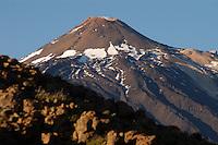 The peak of Mount Teide, Tenerife, Canary Islands